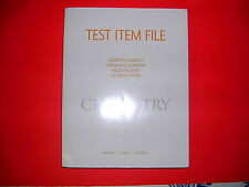 Test Item File Chemistry the Central Science 10E