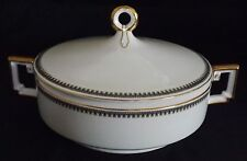 Heinrich & Co. Selb Bavaria Imperial Pattern #5843 Round Covered Vegetable Bowl
