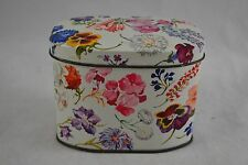 VINTAGE 1950s CHILTONIAN BISCUITS floral tin