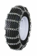 Grizzlar GTU-228 Snowblower Tire Chains 12.25x3.50 12x3.25 4.10/3.50-6