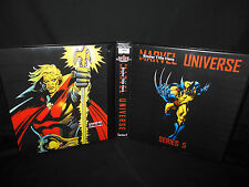 Custom Made Marvel Universe Series 5 Trading Card Binder Graphics Only