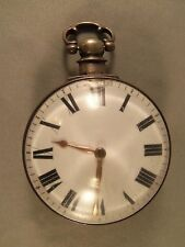 ANTIQUE FUSEE MOVEMENT POCKET WATCH - CIRCA 1700's