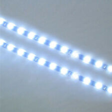 2PC New 12 LEDs 30cm 5050 SMD LED Strip Light Flexible 12V Car Decor Waterproof