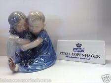 Royal Copenhagen Figurine no.707 - Due Bambini e un Cane - Royal Copenhagen