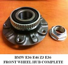 BMW 3 SERIES E46 E36 FRONT WHEEL BEARING HUB KIT ABS SENSOR RING 1998-2005 NEW