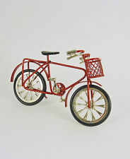 Closeout! Dollhouse Miniature Doll Child's Red Bicycle Bike, G8143