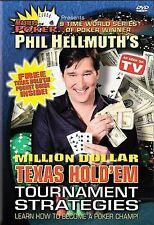 Phil Hellmuth's Million Dollar Texas Hold 'Em - Tournament Strategies  Masters o
