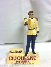 Duquesne beer sign bar figure Duke chalk man chalkware guy statue figure old GW4