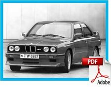 BMW 3-series E30 - 1983 to 1991 - Service and Repair manual [on-line delivery]