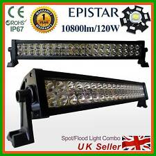 120W LED Light Bar Work Lamp SUV,Recovery PICKUP Truck Van Lorry Boat