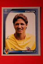 PANINI CHAMPIONS LEAGUE 2008/09 # 525 VILLAREAL CF EDMILSON BLACK BACK MINT!