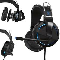 E-3LUE Cobra H937 Blue Light Gaming Headsets with Microphone Razer Game