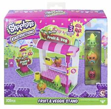 Shopkins Kinstructions Shopping Pack Fruit and Veg Stand