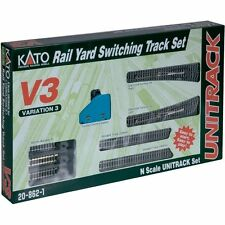 NEW KATO UNITRACK 20-862 V3 RAIL YARD SWITCHING TRACK