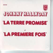 CD 2 titres JOHNNY HALLYDAY *** LA TERRE PROMISE *** LA PREMIERE FOIS n°151