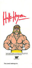 WWF Hulk Hogan Lunch Bag  **BONUS**