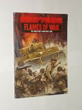 Fames Of War The World War 2 Miniatures Game. Softback Book 2006. Battlefront.