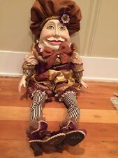 Katherine's Collection Wayne M. Kleski Retired Victorian Humpty Dumpty Doll 27""