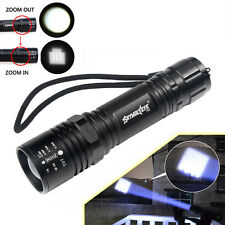 CREE XM-L T6 LED 6000LM 18650/AAA Zoomable Tactical Flashlight Torch Lamp T69