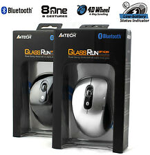 A4TECH bt-630d Mini Bluetooth Mouse Ottico Per Laptop 1000DPI-Argento