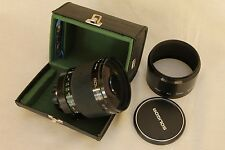 Soligor 500mm f 8 Mirror lens Macro for Olympus OM. MINT !!