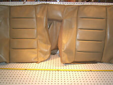 Mercedes W124 500E SPORTLINE RECARO Rear seat leather PARCHMENT top 1 Cover only