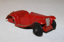 1940's Dinky #35c MG Sports Car, Red