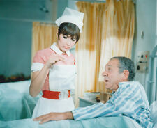 Anita Harris and Sid James UNSIGNED photo - 3028# - Carry On Doctor