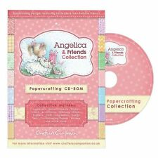 PC CD-ROM Crafters Companion ANGELICA & FRIENDS COLLECTION Papercrafting CD-ANG