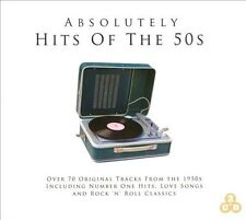 NEW ABSOLUTELY HITS OF THE 50'S 3 CD COLLECTION ROCK N ROLL/LOVE SONGS - FREE SH