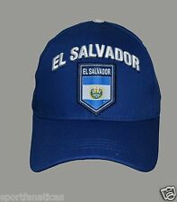 El Salvador  Hat Cap Adjustable Rhinox Group National Team Soccer  Flag Logo