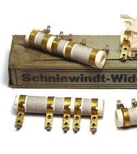4x Heiz-Vorwiderstand / Heizwiderstand / Allstrom-Radio Widerstand, NOS