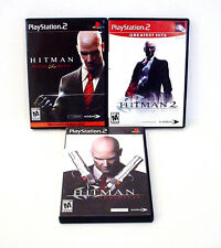 Hitman Blood Money 2 Silent Assassins and Hitman 3 Contracts PlayStation 2 PS2