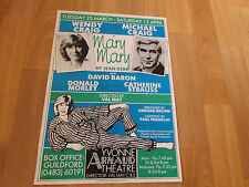 MARY MARY  Wendy & Michael CRAIG  Yvonne Arnaud Theatre GUILFORD Original Poster