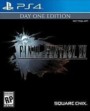 Final Fantasy XV - Day One Edition Sony PlayStation 4, PS4 BRAND NEW SEALED!!!