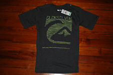 """NEW Men's Quiksilver """"Move Fast"""" Gray Heather Slim Fit T-Shirt (Large)"""