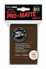 60 Ultra Pro Brown Pro-Matte Deck Protectors. Trading Card Sleeves.