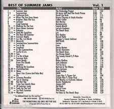 Promo only video classics:Best of Summer Jams BANANARAMA corina DAVID LEE ROD