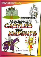 Drawing Manga Medieval Castles and Knights (How to Draw Manga)-ExLibrary