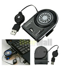 Mini Vacuum USB Cooler Air Extracting Cooling Fan for Notebook Laptop computer