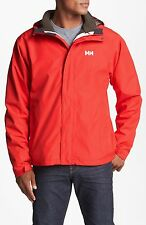 MENS HELLY HANSEN SEVEN J CIS - 3 IN 1 JACKET - SIZE MEDIUM - ALERT RED/ESPRESSO