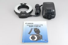 【AB Exc+】 Canon MR-14EX Macro Ring Lite Genuine Speedlite Flash From JAPAN #2539