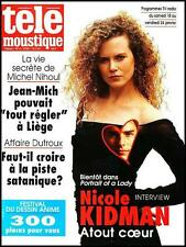 TELEMOUSTIQUE 3703 (15/1/97) NICOLE KIDMAN TOM CRUISE