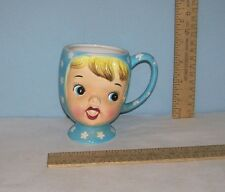 MISS CUTIE-PIE MUG or CUP - A3511/BL - NAPCO - Smiling Faced MUG
