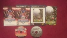 PDC WORLD CHAMPIONSHIP DARTS & GO GO GOLF BUNDLE SONY  PLAYSTATION 2 PS2 PAL VGC