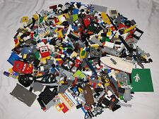 LEGO LOT 8 POUNDS W/ MINIFIGURES SKELETON CASTLE BOAT BASE PLATE STAR WARS LBS