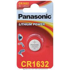 """""""8x Panasonic CR1632 Lithium POWER Batterie Knopfzelle 3V Blister"""