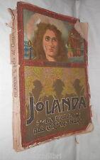 JOLANDA La figlia del Corsaro Nero Emilio Salgari A Della Valle Vallardi 1940