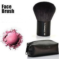 Brand New#Mac Flat Foundation Face Kabuki Powder Contour Makeup Face Brush + Bag