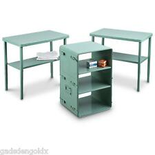 US Military Portable Atlantic Medical Chest 30x18x19 Converts Table Desk Storage